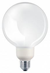 PH Лампа люминесцентная компактная шар Softone Glob 16W 827 E27 арт. 871150083014245