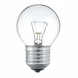 PH Лампа накаливания шар Stan 60W E27 230V P45 CL 1CT/10X10 арт. 926000005857