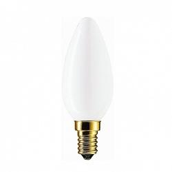 PH Лампа накаливания свеча Kryp 40W E14 230V B35 WH 1CT/10X10 арт. 871150002170050