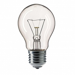 Pila Лампа накаливания грушевидная Stan 60W E27 230V A55 CL 1CT/12X10 арт. 926000006685