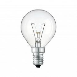 Pila Лампа накаливания шар P45 40W 230V E14 CL.1CT/10X10F арт. 926000006556