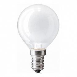 Pila Лампа накаливания шар P45 60W 230V E14 FR.1CT/10X10F арт. 926000003887