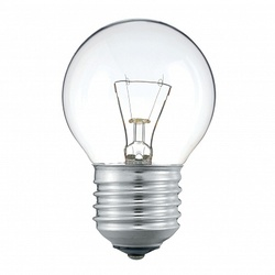 Pila Лампа накаливания шар P45 60W 230V E27 CL.1CT/10X10F арт. 926000005878