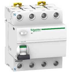 SE Acti 9 Устройство защитного отключения (УЗО) iID 4P 40A 100mA AC арт. A9R12440