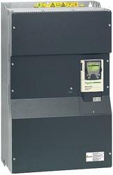 SE Altivar Частотный преобразователь 250кВт 380В на выходе 500Гц 3фаз с блоком управления, подключение ПК арт. ATV61QC25N4