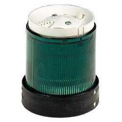 SE Блок для светосигнальных колонн D 70 мм мигающий зеленый 220 В светодиод арт. XVBC5M3