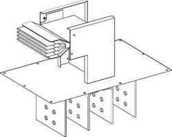 SE Canalis Секция присоединительная к трансформатору №3 (KTA4000ER43) арт. KTA4000ER43