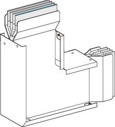 SE Canalis Секция угловая вертикальная (KTA2500LC7A) арт. KTA2500LC7A