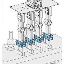 SE Canalis Шинные зажимы 100мм (KTB0000YS2) арт. KTB0000YS2