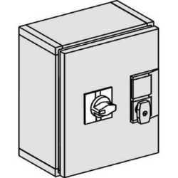SE Compact INS/INV Шкаф герметичный металический IP55 INS320-630 с черной выносной рукояткой арт. 31212