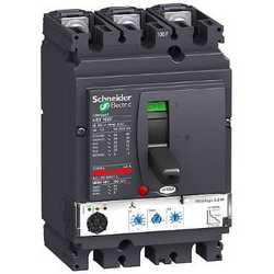 SE Compact NSX 100F Автоматический выключатель Micrologic 2.2 M 50A 3P 3Т арт. LV429827