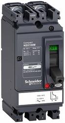 SE Compact NSX Силовой Автоматический выключатель 2P Iu=50А диапазон уставки тока расцепления: 750А 100кА IP30 арт. LV438607