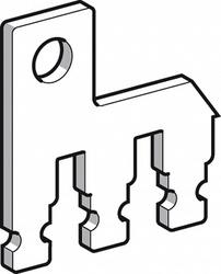 SE Contactors D Ошиновка для параллельного соединения 2Р D80,D95 (компл. 2 шт.) арт. LA9D80961