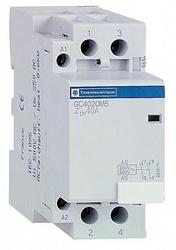 SE Contactors K Контактор модульный 4P (4НО) 100А 220В 50Гц арт. GC10040M5