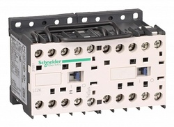 SE Contactors K Telemecanique Контактор реверсивный 16A, 3P, 1НО доп.конт. катушка 24V 50/60Гц арт. LC2K1610B7