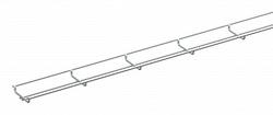 SE Defem Лоток проволочный мини B30-U HDG арт. 1149225