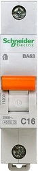 SE Домовой ВА63 Автоматический выключатель 1P 16A (C) 4.5kA арт. 11203