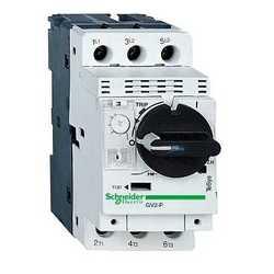 SE GV2 Автоматический выключатель с комбинированным расцепителем (2,5-4А) арт. GV2P08