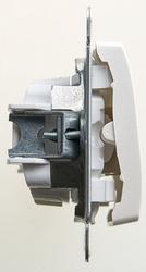 SE Glossa Перламутр Кнопка нажимная сх.1, 10AX арт. GSL000615
