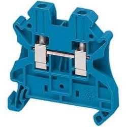 SE Клеммник винтовой проходной, сечением провода 4мм2, 2 точки подключения арт. NSYTRV42BL