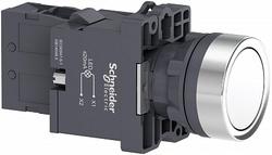 SE Кнопка с подсветкой LED, 220В,белая,1НO арт. XA2EW31M1