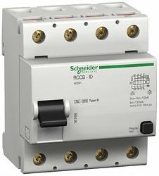 SE Multi 9 Устройство защитного отключения (УЗО) ID 4P 80А 30мА B 10кА арт. 16760