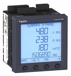 SE Powerlogic Многофункциональный измерительный прибор PM820 c выносным дисплеем арт. PM820RDMG