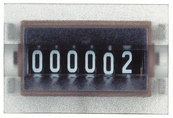 SE Счетчик механический 6 цифр DC 24В арт. XBKT60000U00M