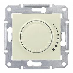 SE Sedna Беж Светорегулятор поворотно-нажимной 60-500Вт, для л/н и г/л с обмот. трансформатором арт. SDN2200547