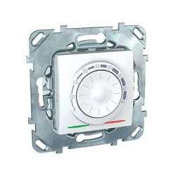 SE Unica Бел Регулятор тёплого пола 10А, с датчиком (без функц. откл.) арт. MGU5.503.18ZD