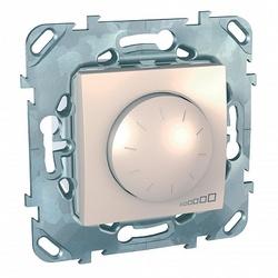 SE Unica Беж Светорегулятор поворотный для электронных ПРА (1-10 В) выкл 4А, ток упр-я до 200 мА арт. MGU5.510.25ZD