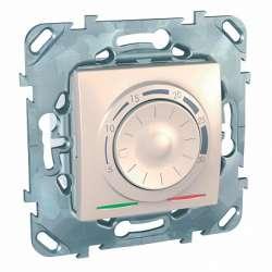 SE Unica Беж Термостат электронный 8А (от +5 до +30С) арт. MGU5.501.25ZD