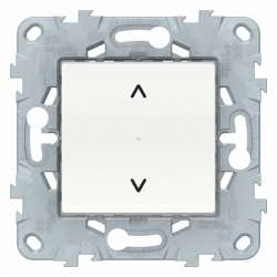 SE Unica New Бел Выключатель Wiser управление жалюзи арт. NU550818