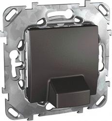 SE Unica Top Графит Вывод кабеля 16A арт. MGU5.862.12ZD