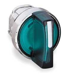 SE XB4 Головка для переключателя 22мм, зеленая арт. ZB4BK1233