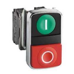 SE XB4 Кнопка 22мм, двойная, с маркировкой арт. XB4BL73415