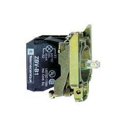 SE XB4 Корпус кнопки 22мм 240В с подсветкой ZB4BW0M41 арт. ZB4BW0M41