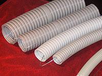SPL Труба гофрированная (с зондом) диаметр 32 мм серая (бухта 25 м) арт. TGS 32/01