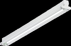 СТ BAT 218 Светильник люминесцентный накладной без отр.2x18W T8 G13 IP20 арт. 1007000101
