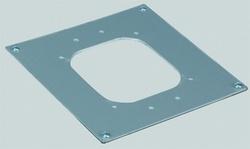 Simon Connect Алюминий Накладка-адаптер для установки миниколонн K45 на цоколи КТА8 и др. арт. ALKA02-8