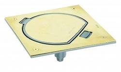 Simon Connect Латунь Лючок влагостойкий IP 66, посадочное место под 1 модуль K45 арт. KSE0-23-71