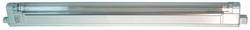 Светильник линейный с рассеивателем накладной 20Вт G5 220-230В пластик белый с выключателем Camelion арт. 3110