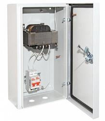 TDM Ящик с трансформатором понижающим ЯТП-0,25 220/12-2авт. IP54 арт. SQ1601-0013