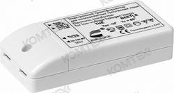 Трансформатор электронный  70Вт (min 20Вт) 230/12В (провод до 2м) регулируем. Комтех арт. CH915101