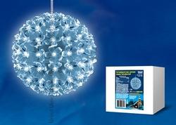 Uniel Фигура LED Шар с цветами сакуры, с контроллером, 100 св-в, цвет свечения-теплый белый, IP21 арт. 09569