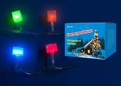 Uniel Гирлянда LED с контроллером Кубики, 50 светодиодов, 7 м, разноцветная, IP20 арт. 07932