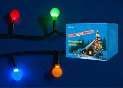 Uniel Гирлянда LED с контроллером Шарики, 60 светодиодов, 5,4 м, разноцветная, IP20 арт. 07928