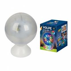 Volpe Белый Светодиодный светильник-проектор, Диско шар 3D, 220В ULI-Q307 4,5W/RGB WHITE арт. UL-00001530