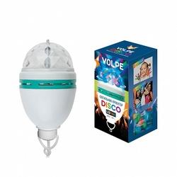 Volpe Белый Светодиодный светильник-проектор, многоцветный, 220В арт. UL-00000298