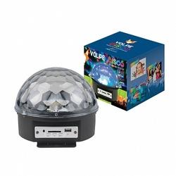 Volpe DISCO Cветильник-проектор LED Диско-шар многоцветный арт. UL-00000301